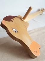Cheval-baton en bois