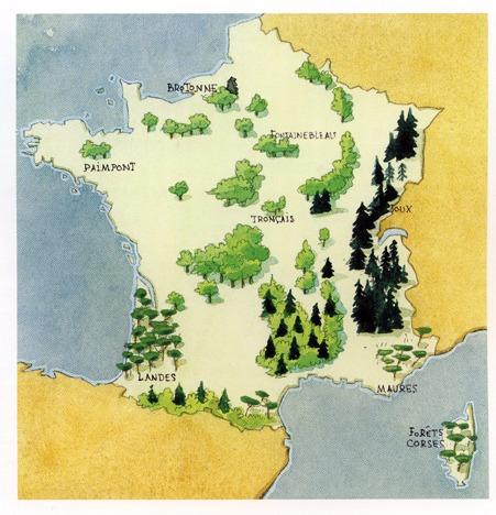 Forêts domaniales françaises ONF
