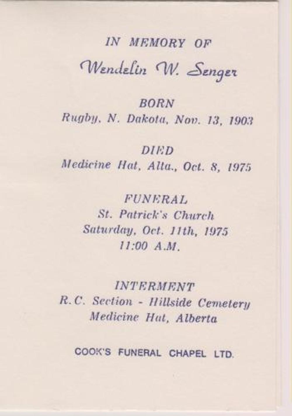 wendelin-senger-funeral-card
