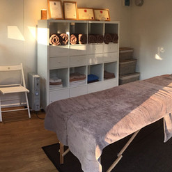 My treatment room is the perfect space to get away from it all.
