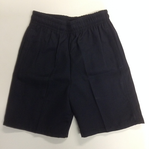 St Charbel Primary Boys Navy Shorts Size 4-10