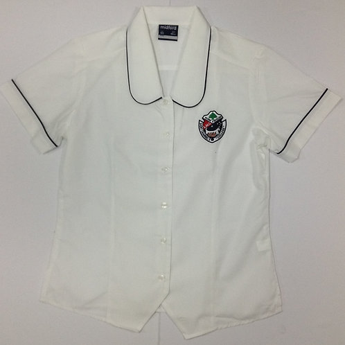 St Charbel Girls White Senior Blouse