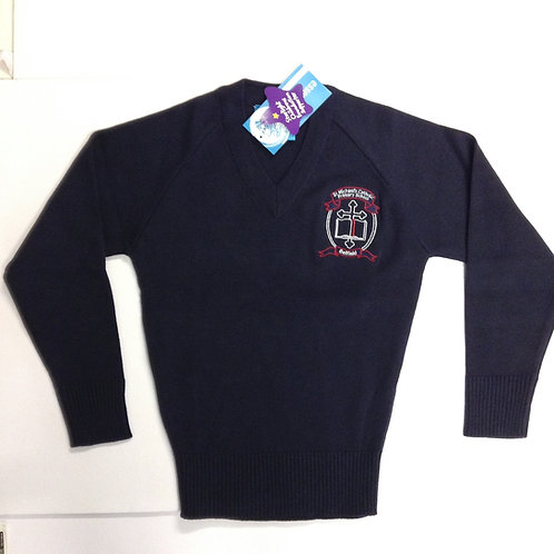 St Michael Belfield School Cotton Pullover