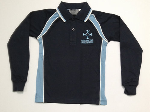 Punchbowl Public Long Sleeve Polo