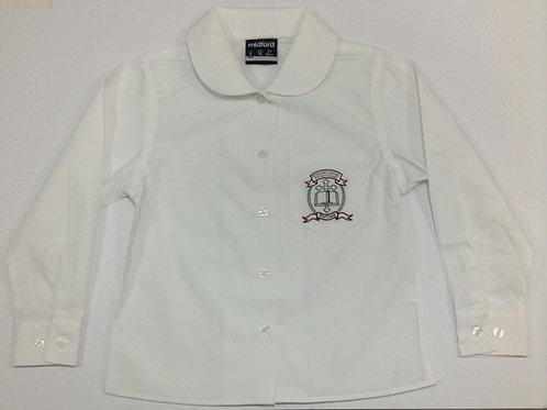 St Michael Belfield Girls Winter Long Sleeve Shirt