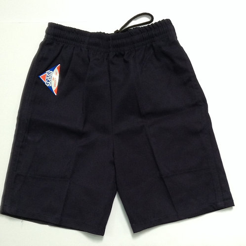 Punchbowl Boys Navy School Shorts Size S-5XL