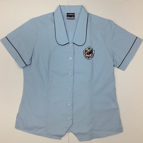 St Charbel Girls White Junior Blouse