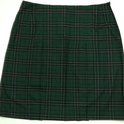 Wiley Park Girls High Short Chequered Skirt