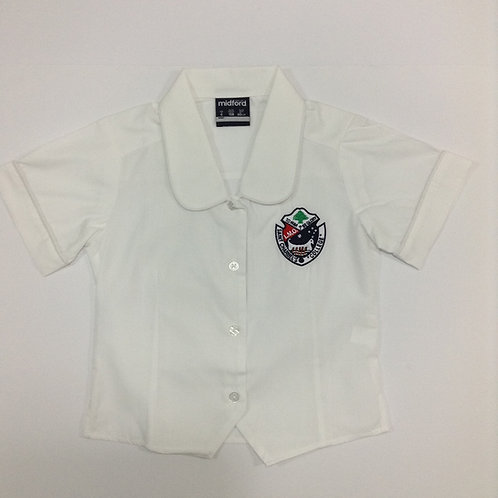 St Charbel Primary Girls Short Sleeve Blouse