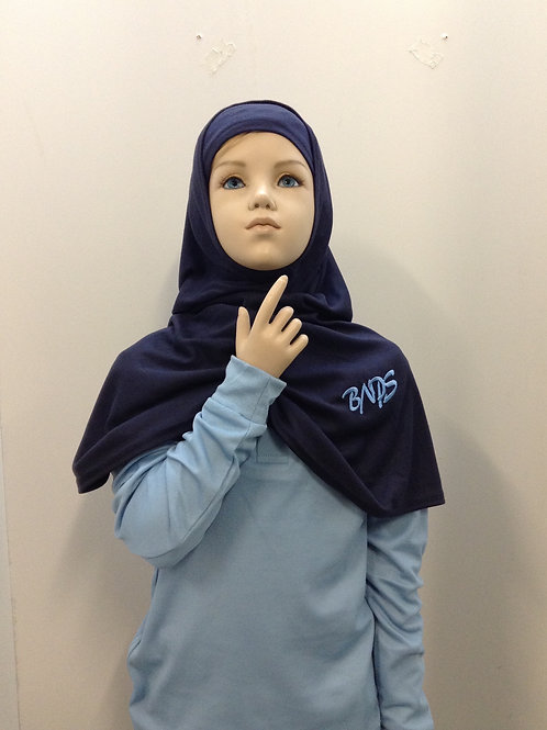 Belmore North Hijab Navy With Emblem Includes Beanie