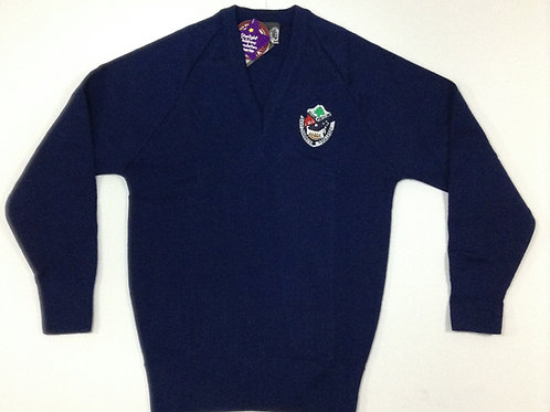 St Charbel School Girls Navy Jumper Size 18-28