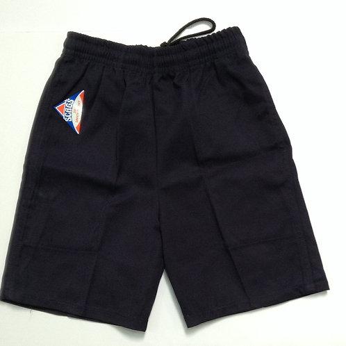 Punchbowl Boys Navy School Shorts Size 10-18