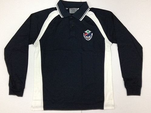 St Charbel Sports Long Sleeve Polo