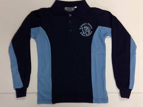 St Joseph Belmore School Sports Long Sleeve Polo