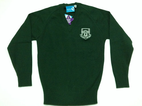 Wiley Park Girls High Knitted Jumper