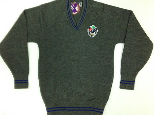 St Charbel School Grey Jumper Size 12-16