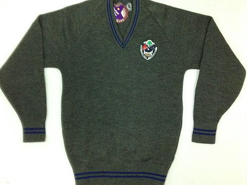 St Charbel School Grey Jumper Size 12-16