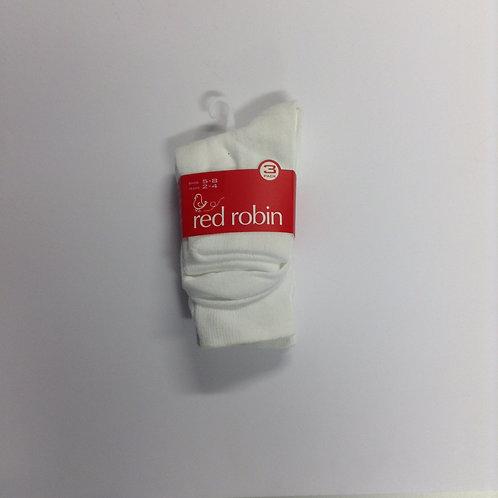 Belmore North 3pk White Socks