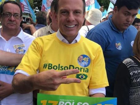 Horas após o fim das eleições, Dória anuncia que SP terá redução de flexibilização.
