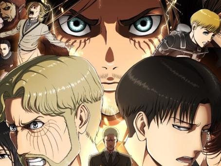 Attack on Titan - Revelado o número de episódios da 4ª e última temporada