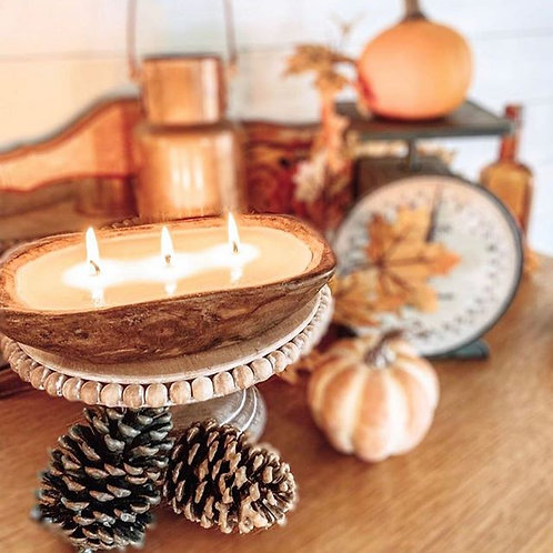 Mini Dough Bowl Candle