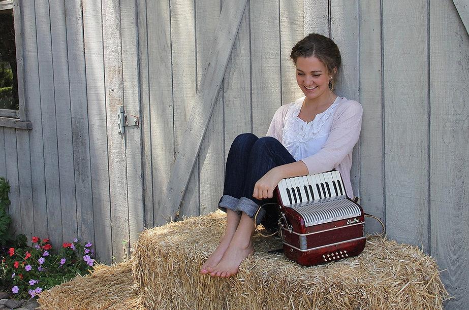 samantha harvey accordion, samantha harvey piano