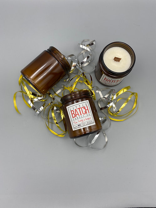 8oz Crackling Wood Wick Candle