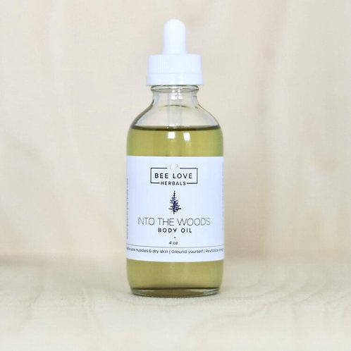Bee Love Herbals Into the Woods Body Oil