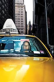 A Cab Waits Down on Broadway