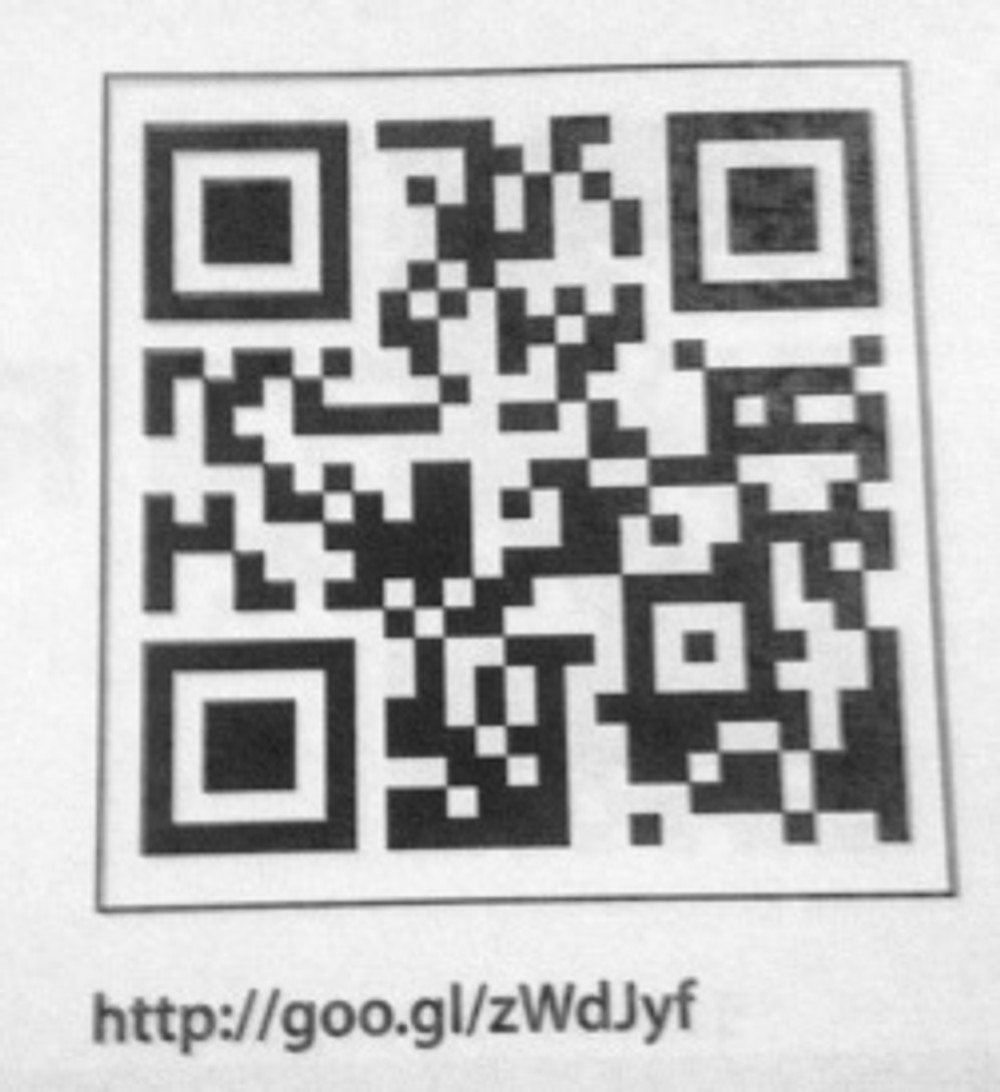 Look Different QR code