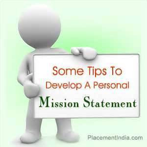 What is your __________ mission statement?