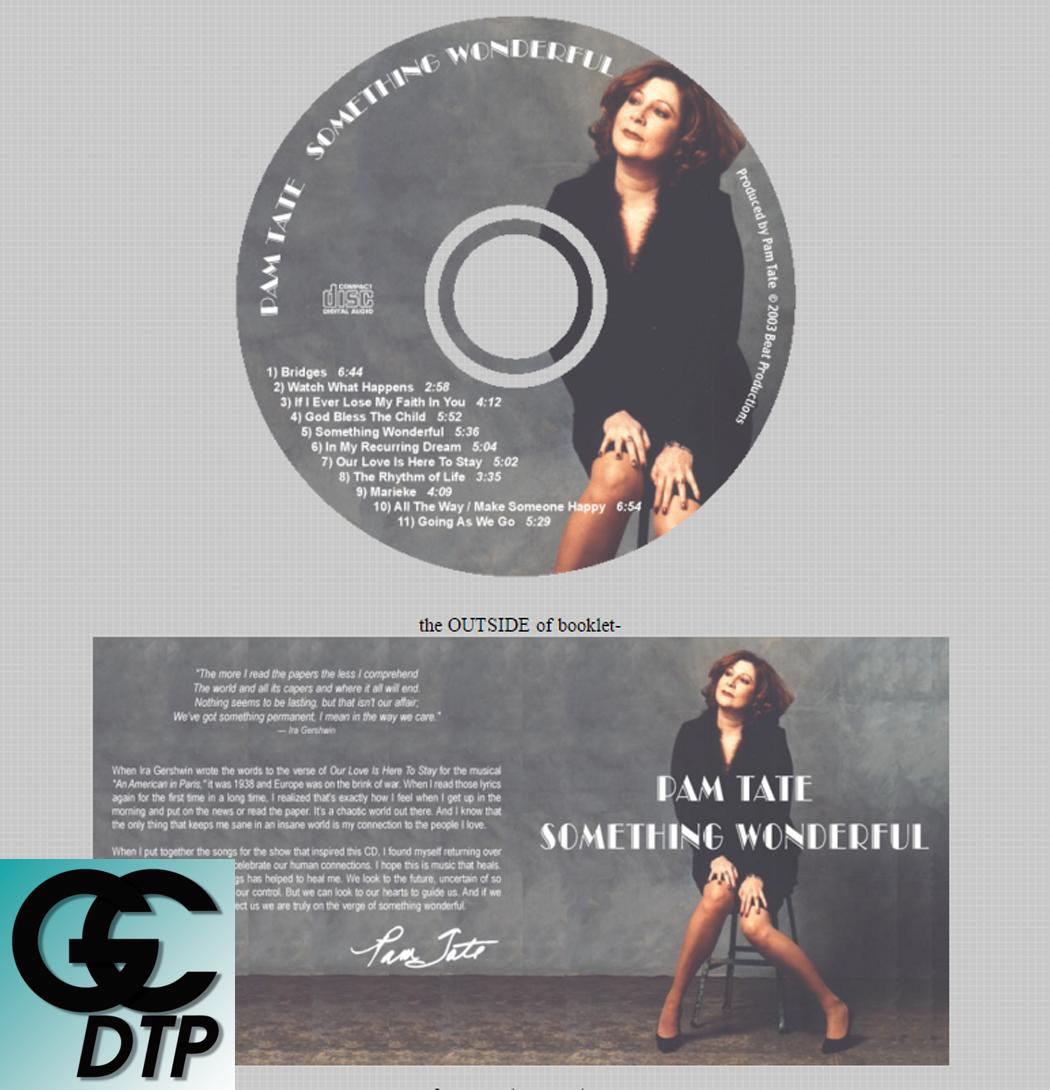 Glen Charlow - CD Design