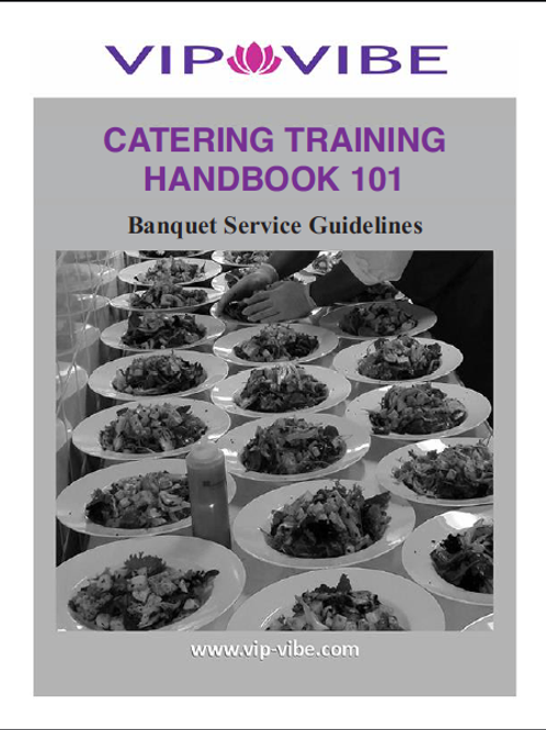 CATERING TRAINING HANDBOOK 101