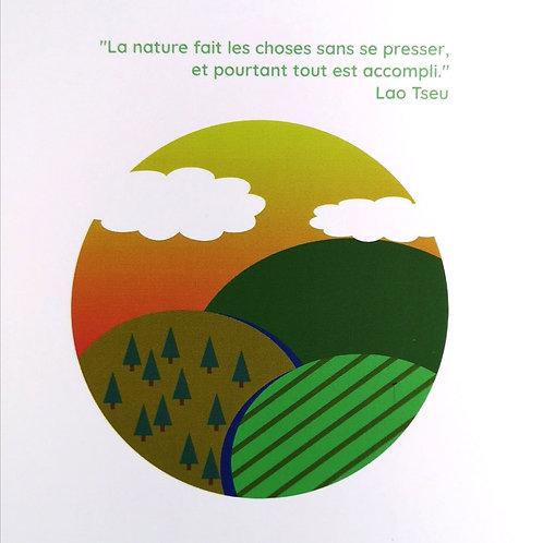 Carte Lao Tseu