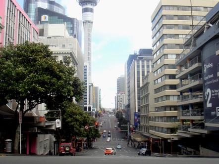 La ville d'Auckland [Nouvelle-Zélande]