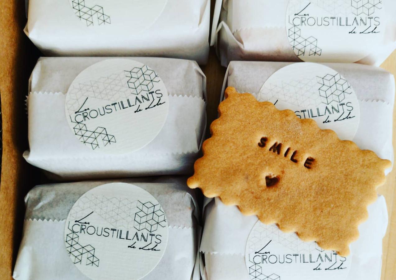 """Biscuits """"les croustillants de Lola"""""""