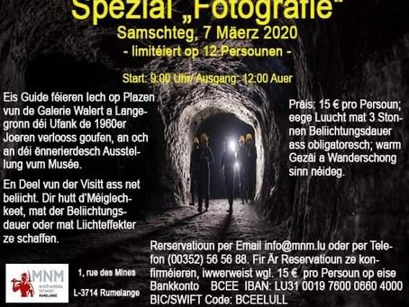 """Musée des Mines - Spezial """"Fotografie"""""""