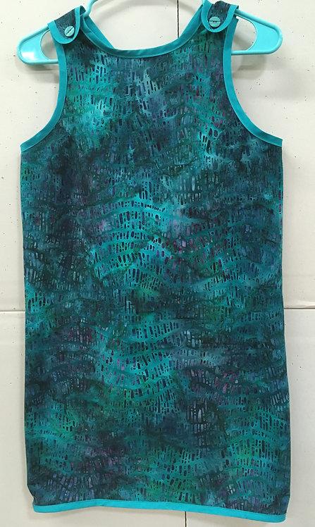 Batik wrap-around cover-up