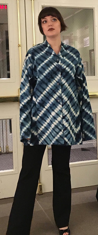 Indigo Shibori Jacket