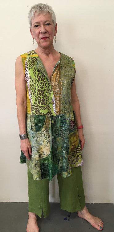 Mixed greens tunic