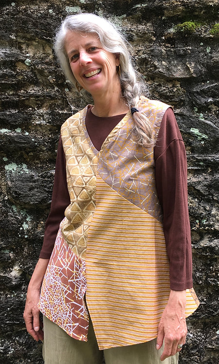 Earth tones tunic top