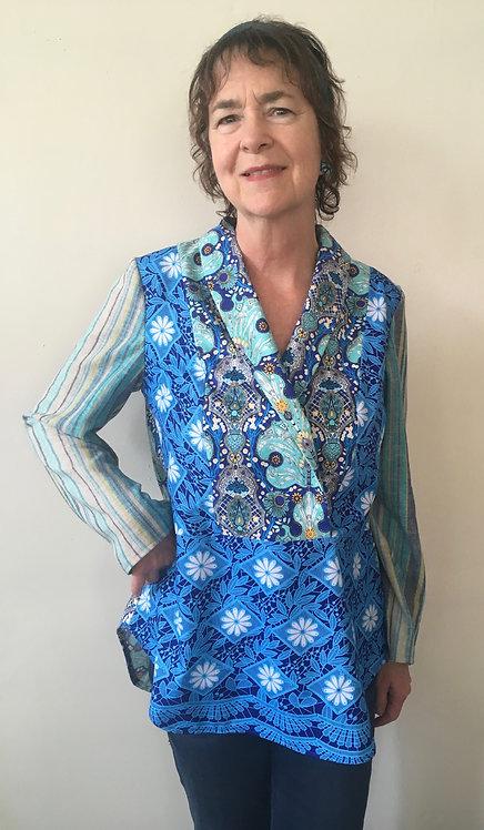 Art Nouveau/Folk Art blouse