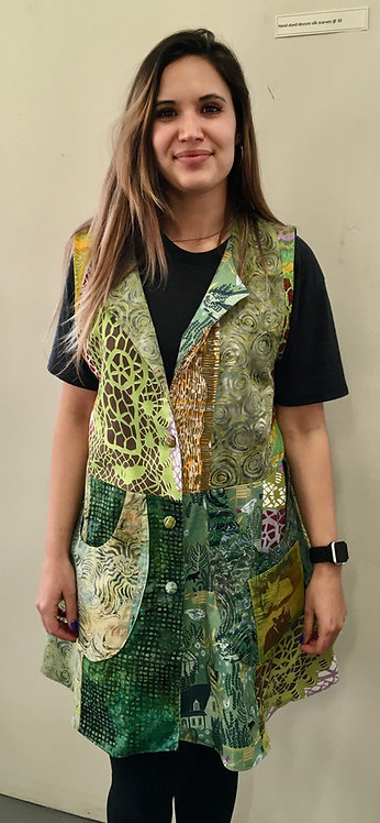 Mixed greens tunic
