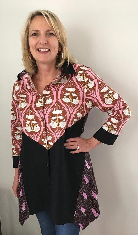 Art Deco Tunic Shirt Dress