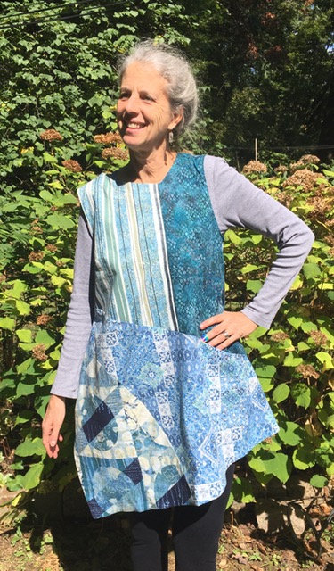 Mixed Blues Harmony tunic top
