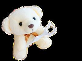 デンタグロスを持つクマ