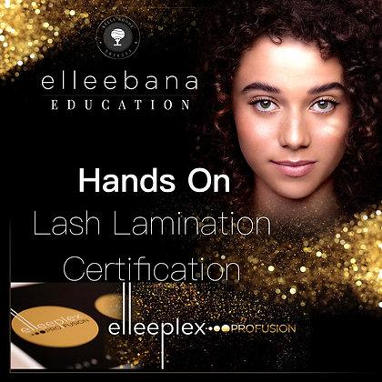 Elleebana Elleeplex Lash Lamination1 Day Certification Course