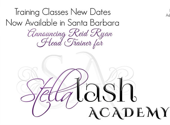 2 Day Volume Lash Extension Course with Reid Ryan in Santa Barbara