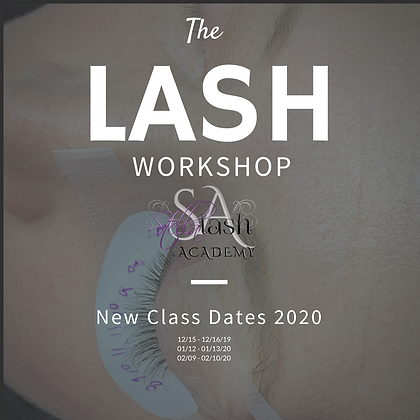 2 Day Volume Lash Extension Course NEW 2020 Dates with Stefani