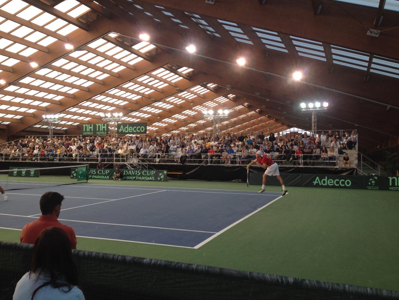 Renovação do campo de ténis nº1 do Centro de Alto Rendimento Nacional - Jamor